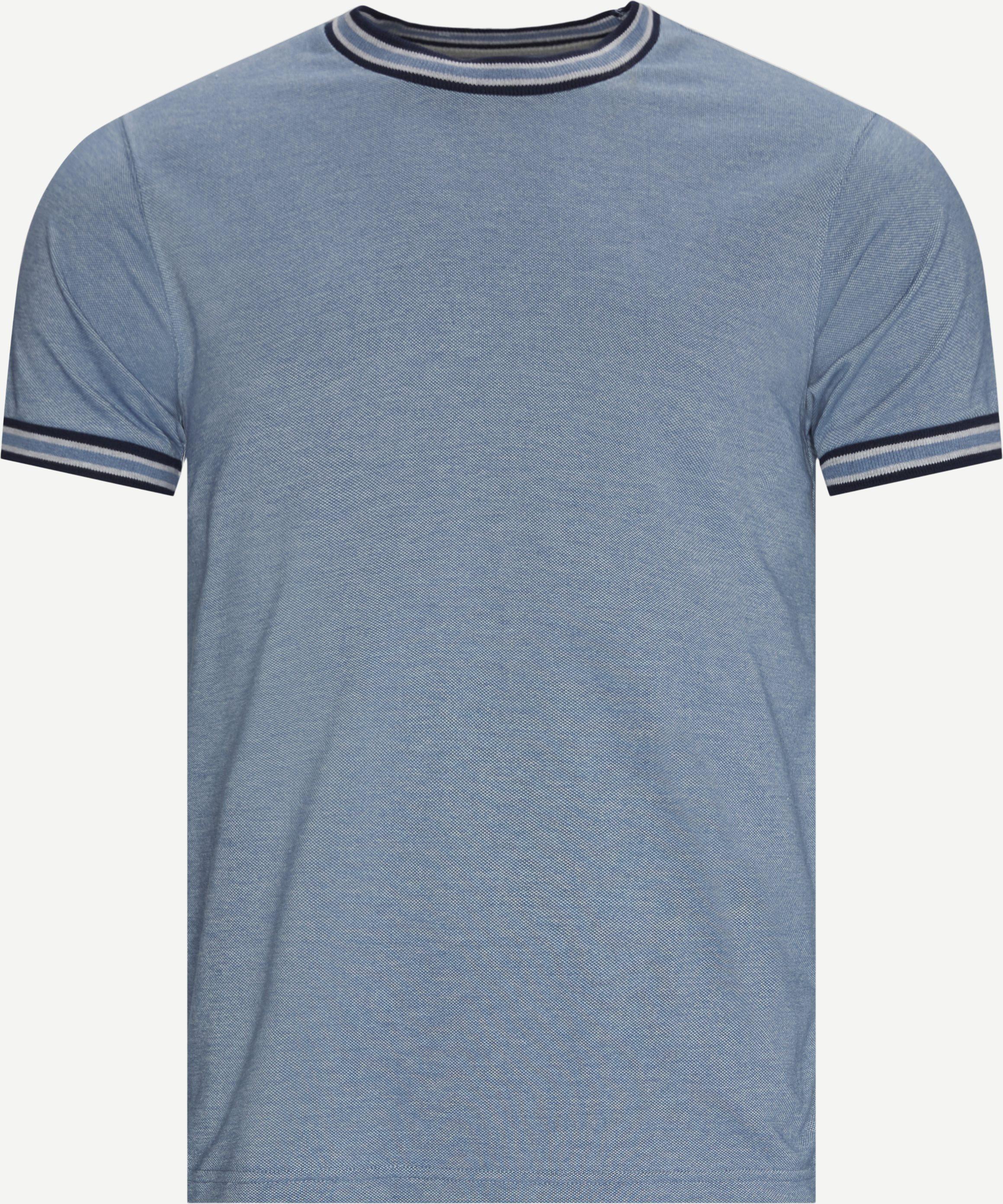 T-Shirts - Regular fit - Jeans-Blau